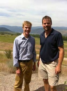 Aaron Lish and Aaron Deans, Okanagan