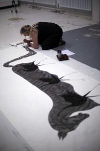 Anna Glynn at work