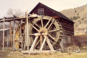 Grist Mill Wheel 1998