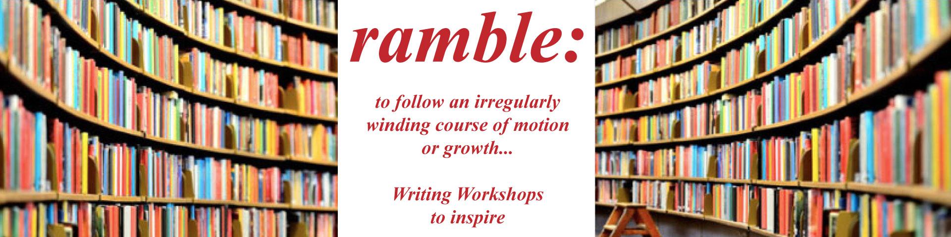 Lorna Tureski Ramble Writing workshops